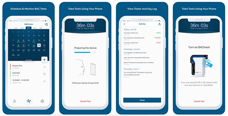 BACtrack View remote alcohol monitoring